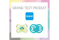 Les parents ont testé les sucettes Perfect de MAM !